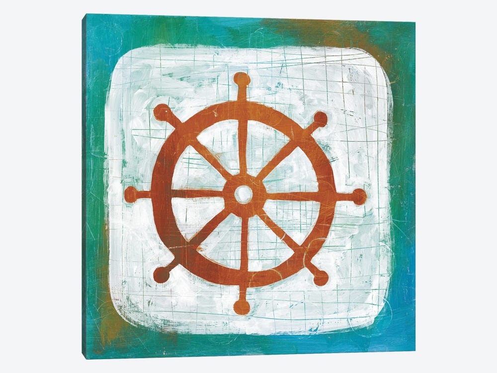 Ahoy IV by Melissa Averinos 1-piece Canvas Art Print
