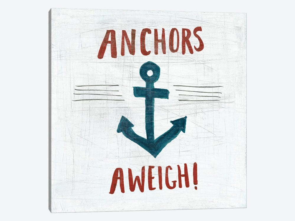 Ahoy VI 1-piece Canvas Art Print