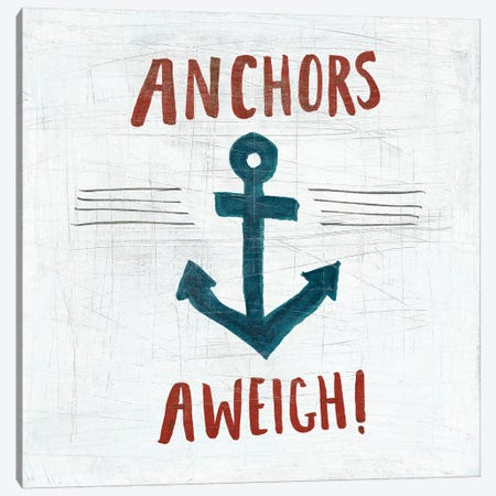 Ahoy VI Canvas Print #WAC5700} by Melissa Averinos Art Print