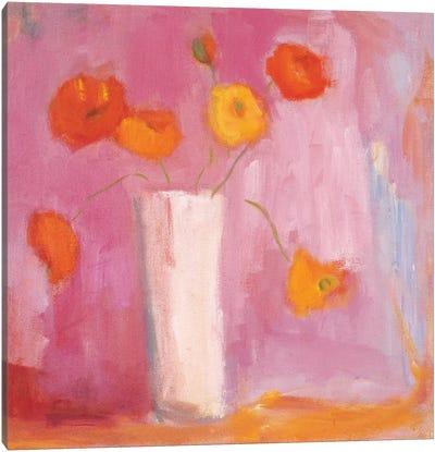 Mandarin Poppies Canvas Art Print