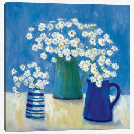 Summer Daisies Canvas Print #WAC5710} by Michael Clark Canvas Artwork