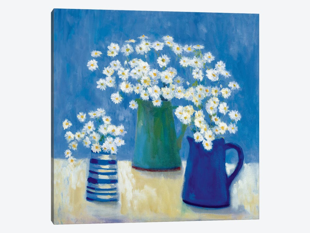 Summer Daisies by Michael Clark 1-piece Canvas Art
