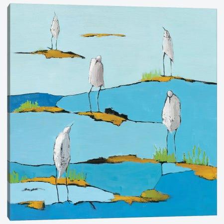 Beach Bums Canvas Print #WAC5713} by Phyllis Adams Canvas Artwork