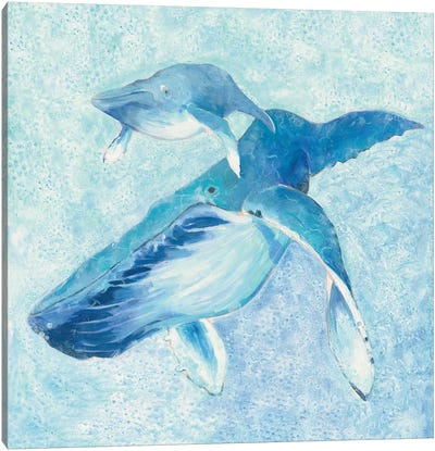 Blue Mama Canvas Art Print