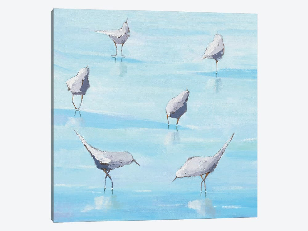 By The Water's Edge by Phyllis Adams 1-piece Canvas Wall Art