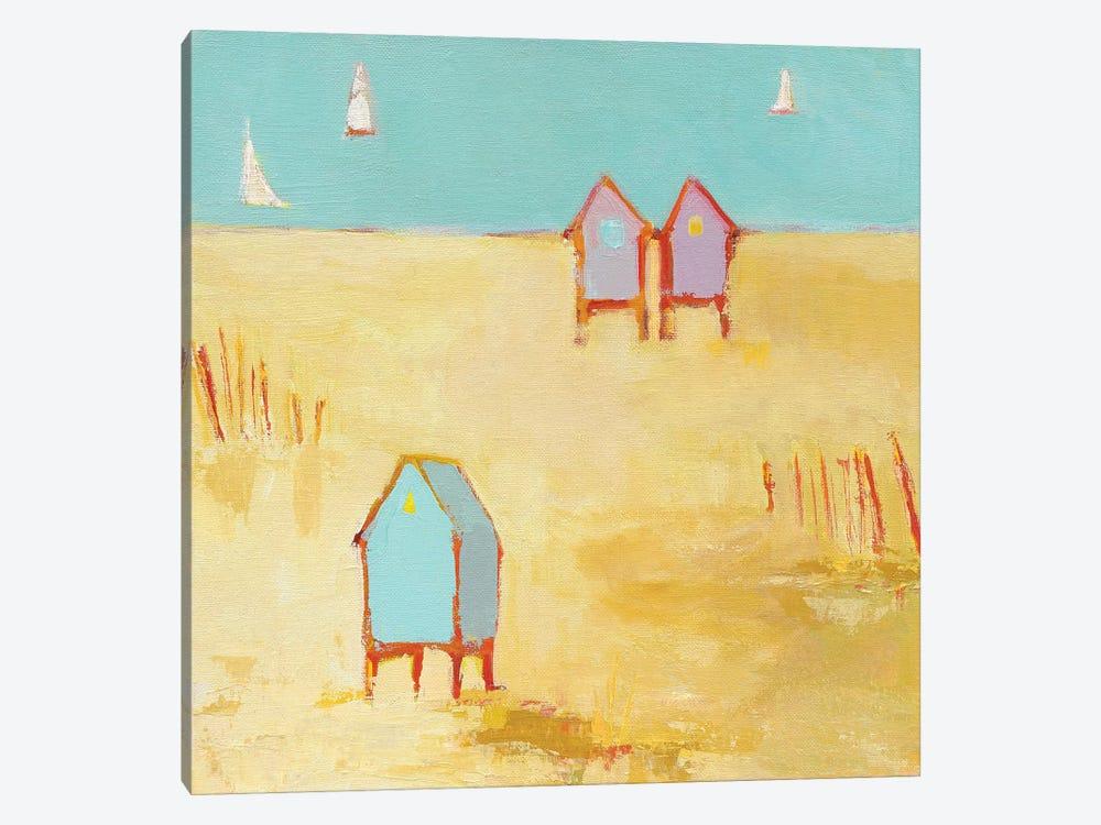 Cabanas by Phyllis Adams 1-piece Art Print