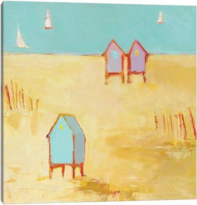 Cabanas Canvas Art Print