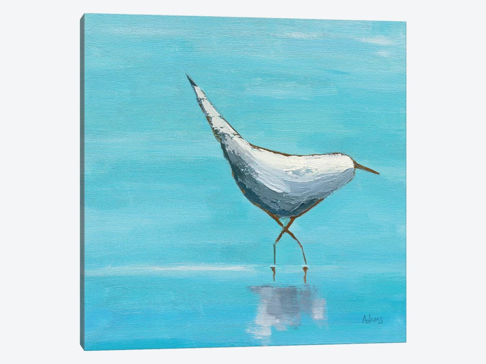 Egret I by Phyllis Adams 1-piece Canvas Print