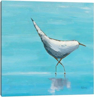 Egret I Canvas Art Print