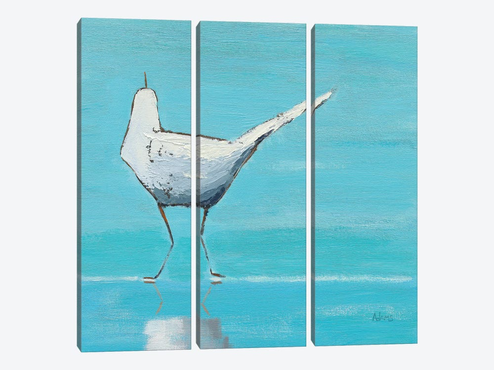 Egret II by Phyllis Adams 3-piece Art Print
