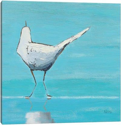 Egret II Canvas Art Print