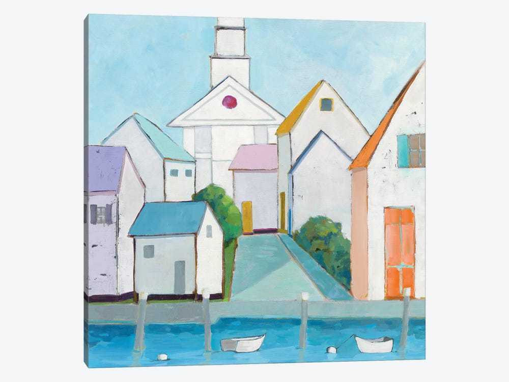 Harbor Town III by Phyllis Adams 1-piece Art Print