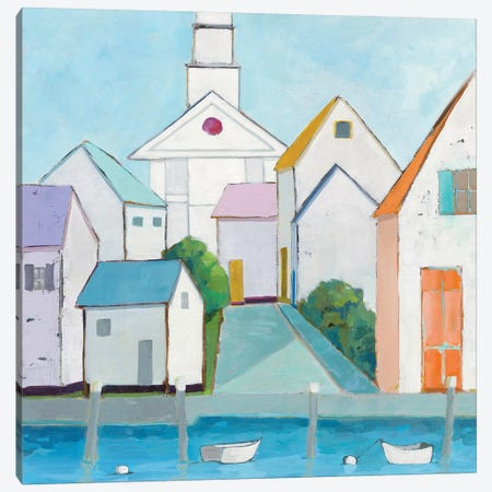 Harbor Town III Canvas Print #WAC5722} by Phyllis Adams Art Print