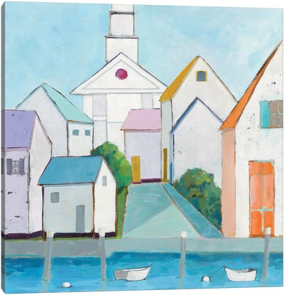 Harbor Town III Canvas Art Print