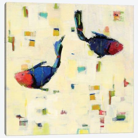 One Fish, Two Fish Canvas Print #WAC5724} by Phyllis Adams Canvas Wall Art