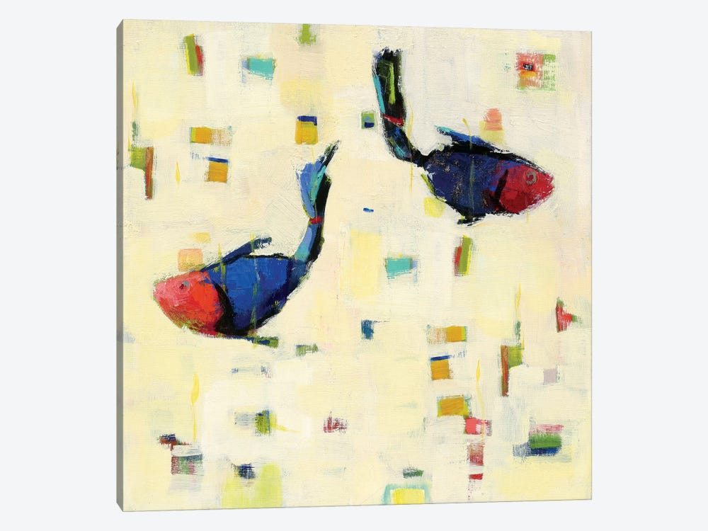 One Fish, Two Fish by Phyllis Adams 1-piece Art Print