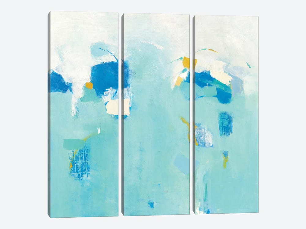 Splash by Phyllis Adams 3-piece Canvas Print
