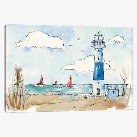 Coastal Life II Canvas Print #WAC5729} by Anne Tavoletti Art Print