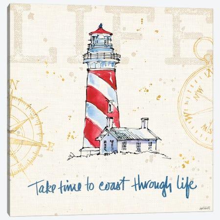 Coastal Life VI Canvas Print #WAC5733} by Anne Tavoletti Canvas Wall Art