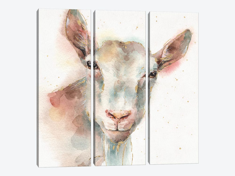 Farm Friends I by Lisa Audit 3-piece Canvas Artwork