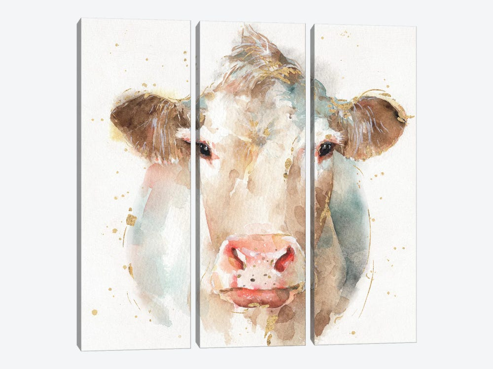 Farm Friends II by Lisa Audit 3-piece Canvas Art Print