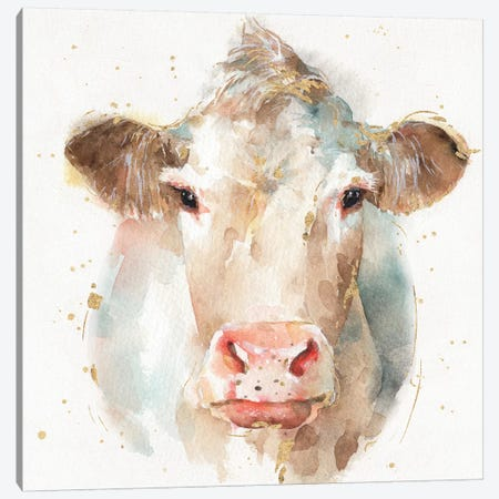 Farm Friends II Canvas Print #WAC5735} by Lisa Audit Canvas Print