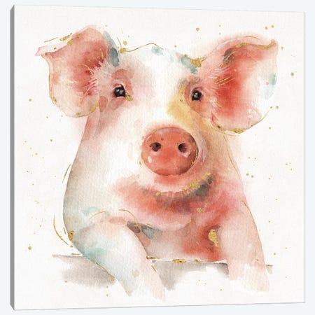 Farm Friends III Canvas Print #WAC5736} by Lisa Audit Art Print