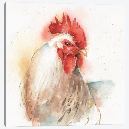 Farm Friends V Canvas Print #WAC5738} by Lisa Audit Canvas Art