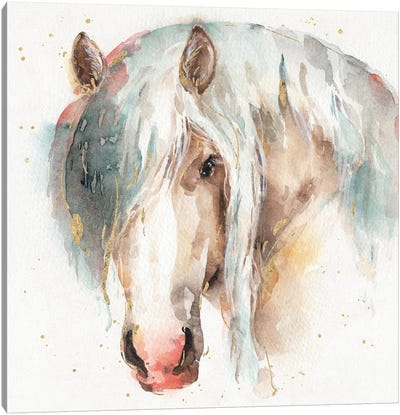 Farm Friends VI Canvas Art Print