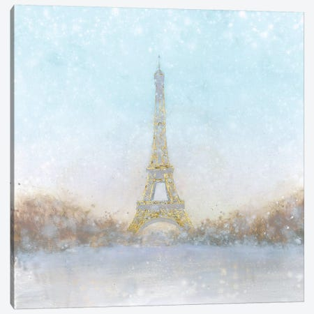 An Eiffel Romance Awaits Canvas Print #WAC5741} by Marco Fabiano Canvas Art Print