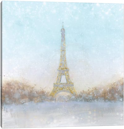 An Eiffel Romance Awaits Canvas Art Print
