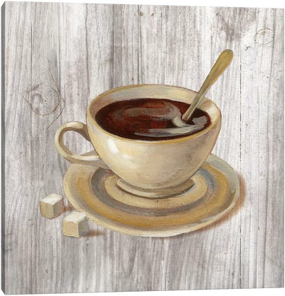 Coffee Time VI Canvas Art Print