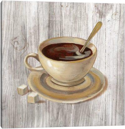 Coffee Time VI Canvas Art Print