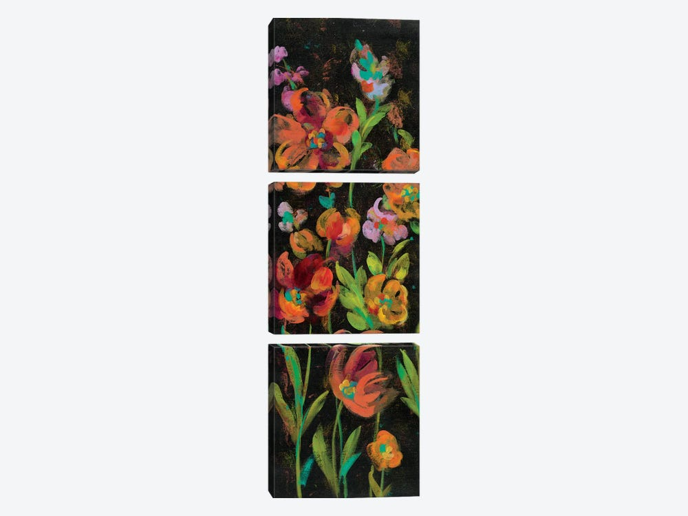 July Garden Trio II by Silvia Vassileva 3-piece Canvas Print