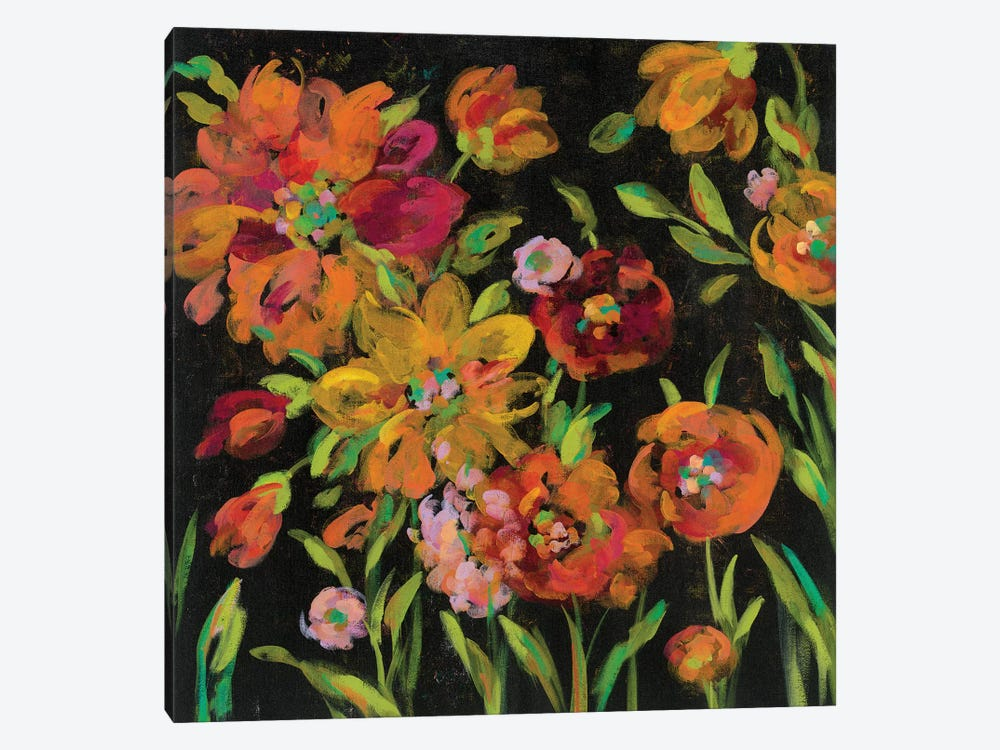 July Garden Trio III by Silvia Vassileva 1-piece Canvas Artwork