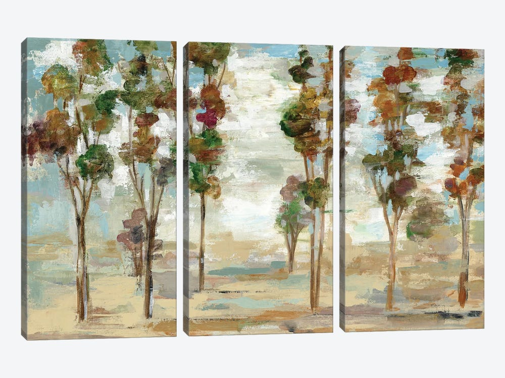 Serene Forest by Silvia Vassileva 3-piece Art Print