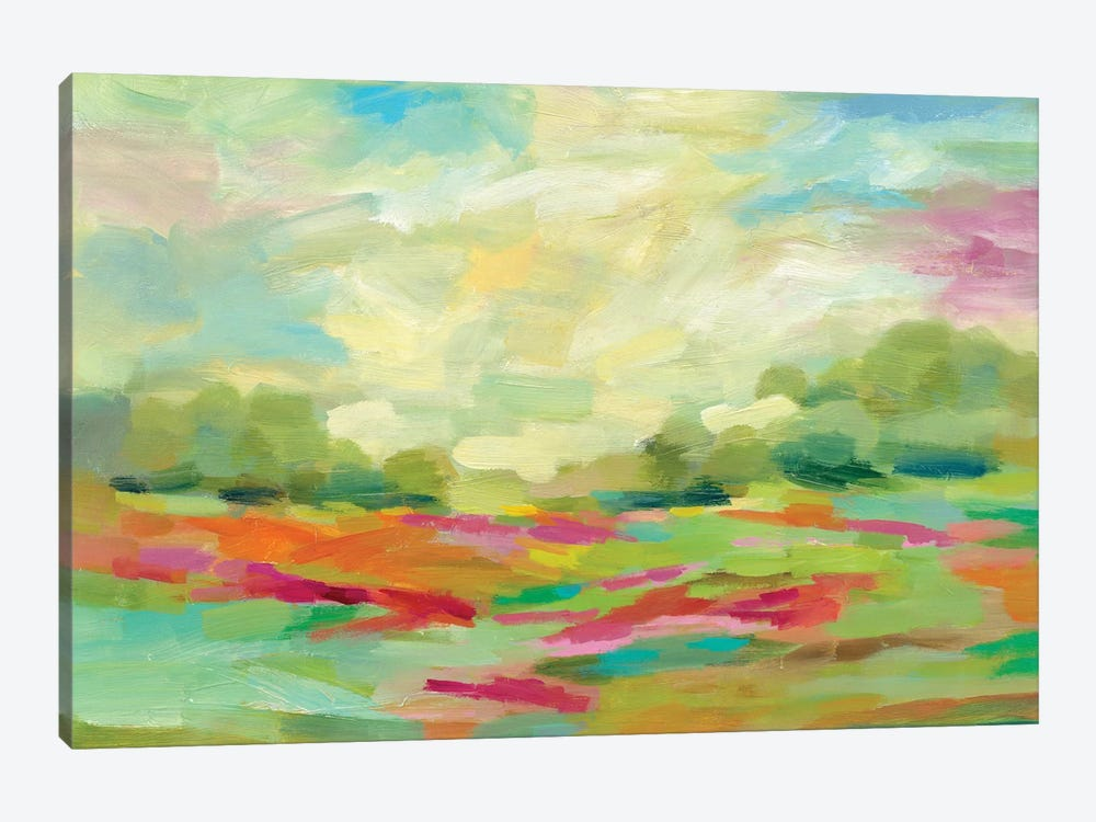 Sunny Fields by Silvia Vassileva 1-piece Canvas Print