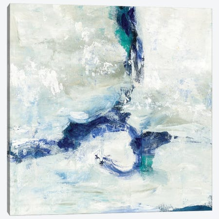 White And Blue Canvas Print #WAC5761} by Silvia Vassileva Canvas Art Print