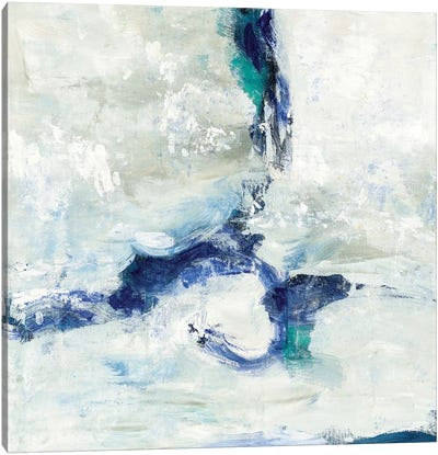 White And Blue Canvas Print #WAC5761