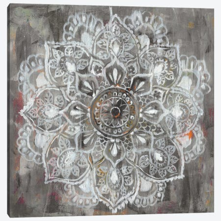 Mandala in Neutral II Canvas Print #WAC5764} by Danhui Nai Canvas Art