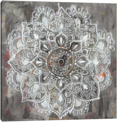 Mandala in Neutral II Canvas Art Print