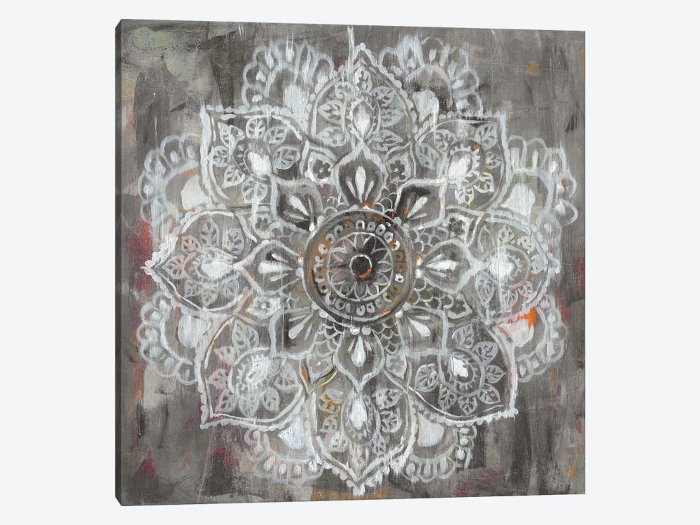 Mandala in Neutral II by Danhui Nai 1-piece Canvas Print