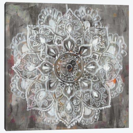 Mandala in Neutral II Canvas Print #WAC5764} by Danhui Nai Canvas Art