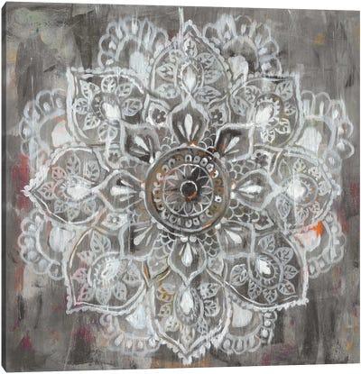 Mandala in Neutral II Canvas Art Print