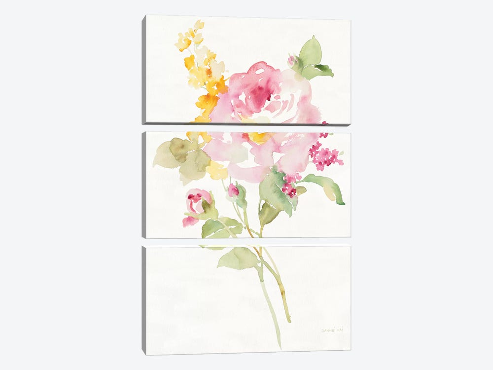 Midsummer I by Danhui Nai 3-piece Canvas Wall Art
