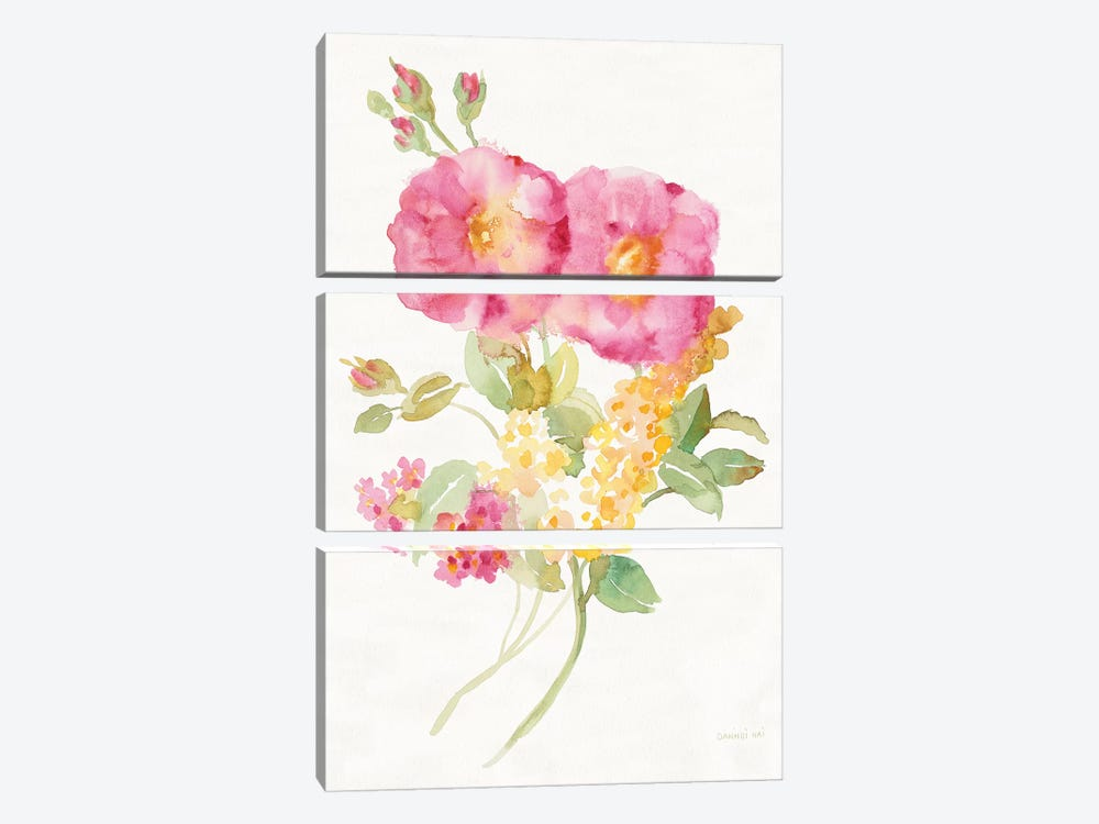 Midsummer II by Danhui Nai 3-piece Canvas Art Print