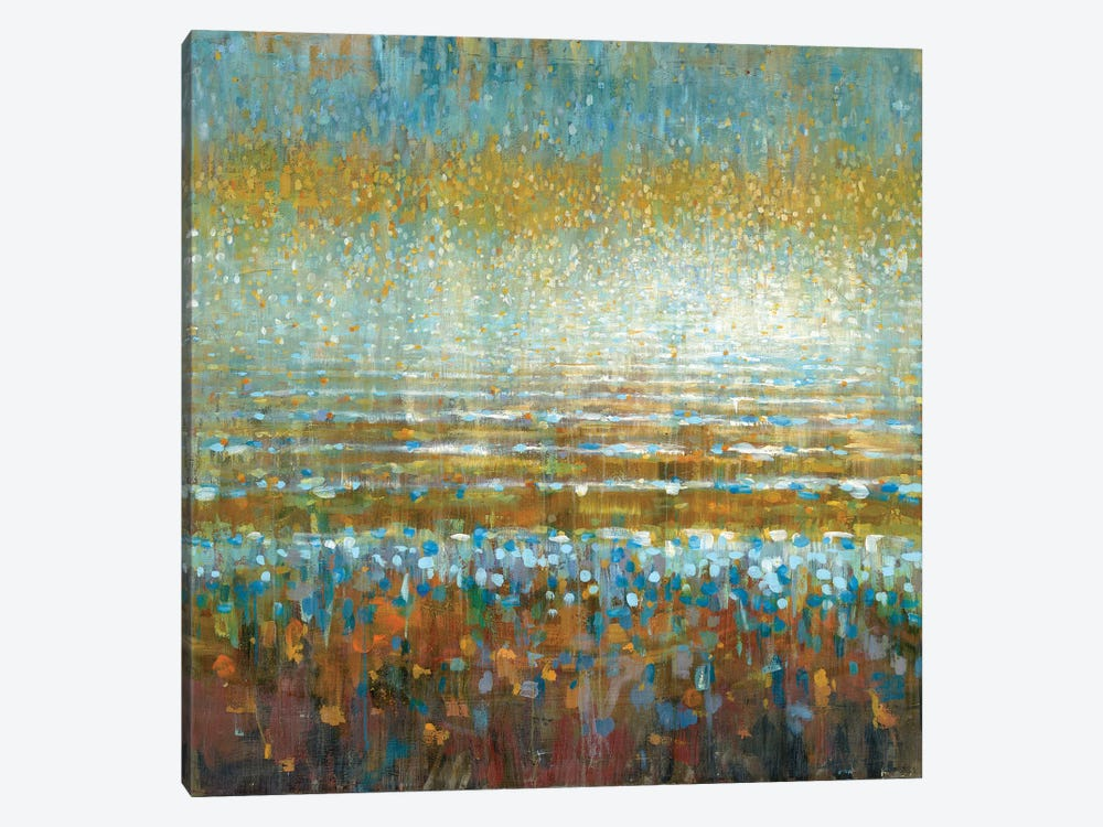 Rains Over The Lake by Danhui Nai 1-piece Canvas Artwork