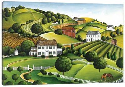 Apple Valley Canvas Art Print