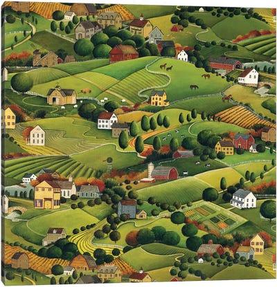 Pleasant Valley Canvas Art Print