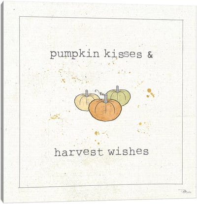 Harvest Cuties III Canvas Art Print